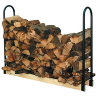 Adjustable Length Firewood Log Rack for Indoor or Outdoor Use PALR33913