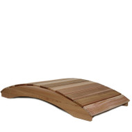 8-Ft Garden Bridge in Western Red Cedar - Natural Unstained Finish HGBD477451