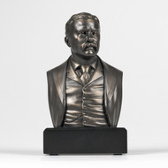 6-inch High Theodore Roosevelt Bust Sculpture Statue in Bronze Finish TR29951