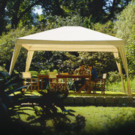 12Ft x 10Ft Folding Gazebo with Carry Bag in Camel C8X12G26912
