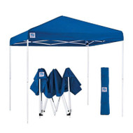 Blue 10-Ft x 10-Ft Easy Up Canopy with Roller Carry Bag BZUC65818451