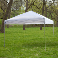 White 10-Ft x 10-Ft Outdoor Canopy Tent Gazebo with Steel Frame and Carry Bag WEUG65184