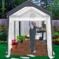 Home Gardener Portable Greenhouse (6' x 8') SGG208491