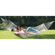 Comfortable Large Cotton Rope Hammock with Carry Bag TSH4141