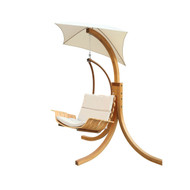 Contemporary Porch Swing Deck Patio Chair with Umbrella PSC35901