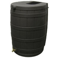 50-Gallon Rain Wizard Rain Barrel in Black RWB50GRB103