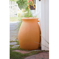 50 Gallon Rainwater Urn Style Rain Barrel with Spigot RU50G99