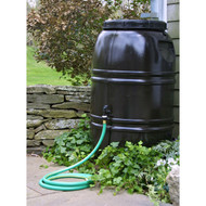 60-Gallon Rain Barrel in Earth Brown Food Grade Plastic RBRB8518941