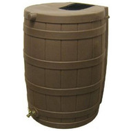 50-Gallon Rain Wizard Rain Barrel in Oak RWO50GRB10199
