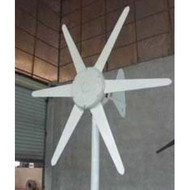 300-Watt 24-Volt 6- Blade Wind Generator with Charge Controller C24V6B300WWG