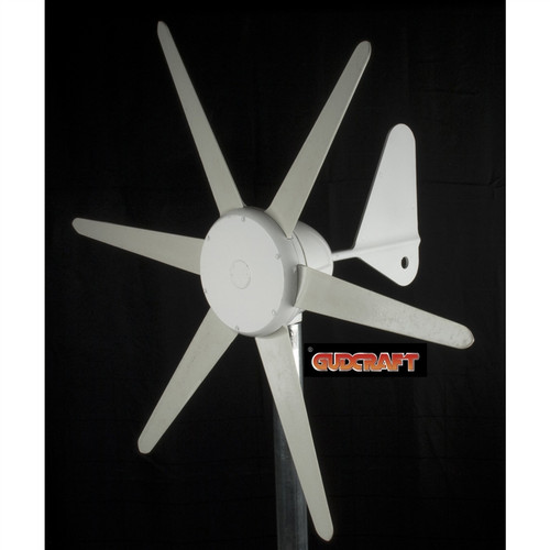 300-Watt 12-Volt Wind 6-Blade Wind Turbine with Charge Controller GC300W12VWT