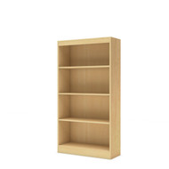 4-Shelf Bookcase in Natural Maple Finish SAB72031-4