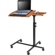 Adjustable Height Laptop Computer Standing Desk Cart with Wheels A9LCCB51731