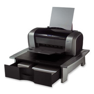 Low Profile Contemporary Printer Stand with Paper Drawer FOPS5195