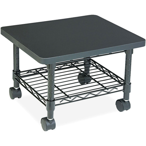 Mobile Under Desk Home Office Fax / Printer Stand Cart with Shelf SUDPS5428