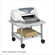 Under Desk Printer Stand Cart with Paper Shelf and Locking Casters UDPSG6449