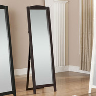 Functional Classic Full Length Leaning Floor Mirror with Black Frame SMB5198451-3