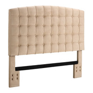 Full/Queen size Tufted Padded Upholstered Headboard in Beige DATH22192