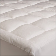 King size Overfilled Super Soft Microplush Mattress Pad PBMPK5524