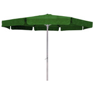 Forest Green 8-Ft Patio Umbrella with Aluminum Pole and Crank Tilt ICMAP51982