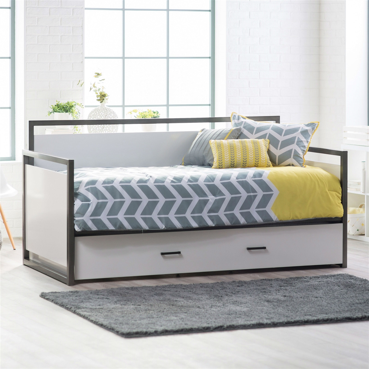 twin pull out bed