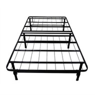 Twin Black Metal Platform Bed Frame TMPB589855841