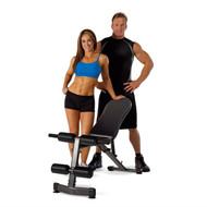Four Position Incline Decline Flat Vertical Wight Exercise Utility Bench MPWTV51968521