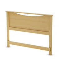 Full / Queen size Headboard in Natural Maple Light Wood Finish FQHBNM95841