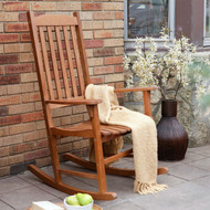 Indoor/Outdoor Patio Porch Natural Slat Rocking Chair MCSNA1488