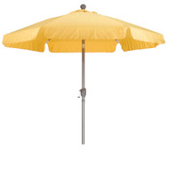 Yellow 7.5-Ft Outdoor Patio Umbrella with Push Button Tilt and Aluminum Pole CYPMT6854512