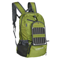 Green 3.25 Watt Solar Panel Backpack Smartphone Tablet Battery Charger GSB51984871