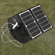 14-Watt Folding Solar Panel Charger for Smartphone iPhone Galaxy and More PCG6945124