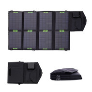 28 Watt Foldable 18V Solar Panel Phone Laptop Tablet Battery Charger PFSBC12495