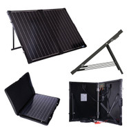 100 Watt Folding Solar Suitcase Batter Charger RFSB26954