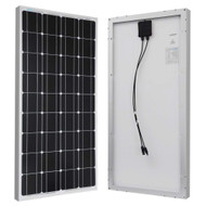100-Watt Solar Panel Great for 12-Volt Battery Charging RV Camping Off-Grid MPG100W51841
