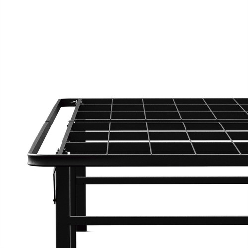California King size 18-inch High Rise Metal Platform Bed Frame with Under Bed Storage Space ZHRCAKBF9884472