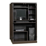 Medium Cherry Wood Finish Computer Armoire SCARME19854781