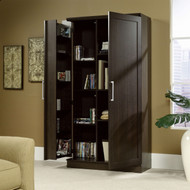 Multi-Purpose Living Room Kitchen Cupboard Storage Cabinet Armoire in Mocha Brown SHPSOSC49849851-3