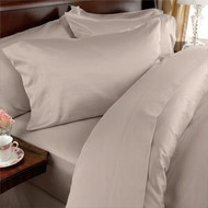 Full size 1500 Thread Count Microfiber Sheet Set in Beige ELWSF2701