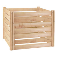 Outdoor 174-Gallon Wooden Compost Bin made from Eco-Friendly Cedar Wood GCWCB1984612