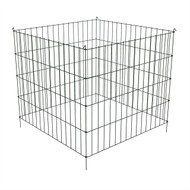 Steel Metal Wire 3-ft Compost Bin in Green - Make your own Garden Soil at Home PCHGSCB9643281