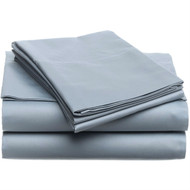 Full size 400-TC Egyptian Cotton Sheet Set in Smokey Blue PH4SB499145