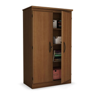 Cherry 2-Door Cabinet Wardrobe Armoire for Bedroom/Living Room/Home Office MCSC6854184