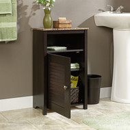 Bathroom Floor Cabinet with Shelf and Faux Granite Top SPBC45731