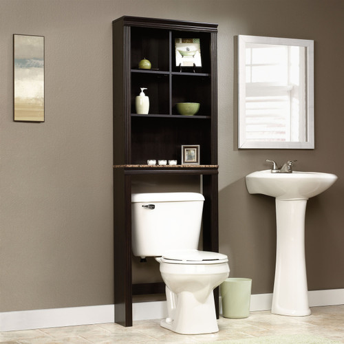 Over Toilet Bathroom Storage Cabinet Shelves Cubby Etagere SPBS60741