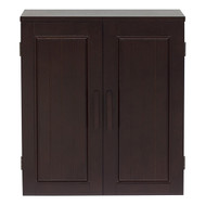 Dark Birch Wood Finish Bathroom Wall Cabinet CDBWC5899