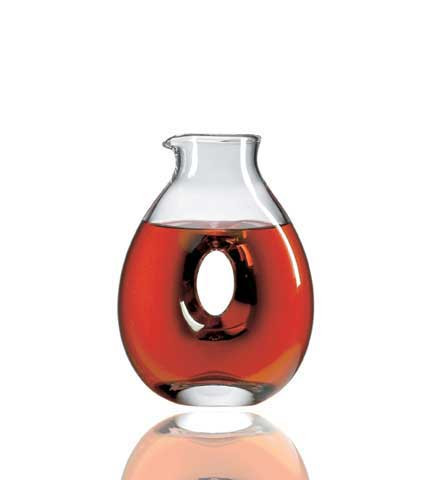 Crystal Torus Decanter W3402