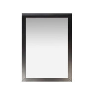 Modern 22-inch x 30-inch Bathroom Vanity Wall Mirror with Black Wood Frame SBVM56181