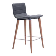 Jericho Counter Chair Gray (Set Of 2) -100272-1