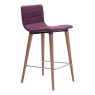 Jericho Counter Chair Purple (Set Of 2) -100273-1